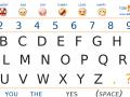 Alphabet board toby churchill
